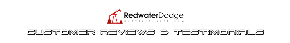 Redwater Dodge Customer Reviews